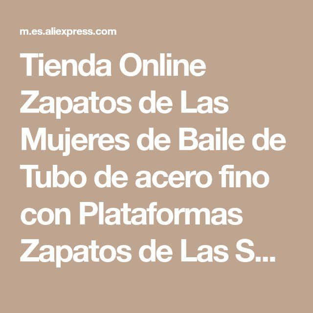 Tienda Online Zapatos de Las Mujeres de Baile de Tubo de acero fino con Plataformas Zapatos de Las Sandalias de tacón alto 15 cm Sexy Femenina Mostrar Señora magnífica Sandalias de tacón alto | Aliexpress móvil