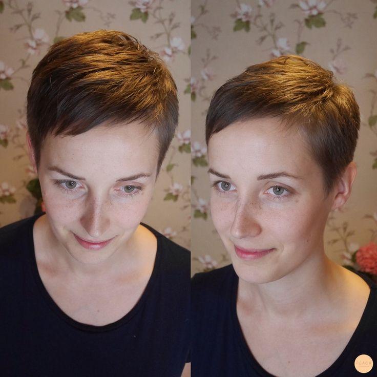Pixie haircut!