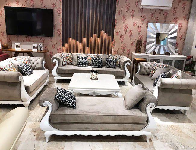 Buy Now Nawab S Furniture Store Delhi Royal Velvet Fabric Upholstered Sofa Three Seater Sofa Luxury Furniture Furniture Upholstered Sofa