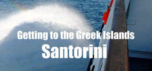 Family Travel ideas - ferry to Santorini, flight to Santorini, Greece is a great family travel destination.