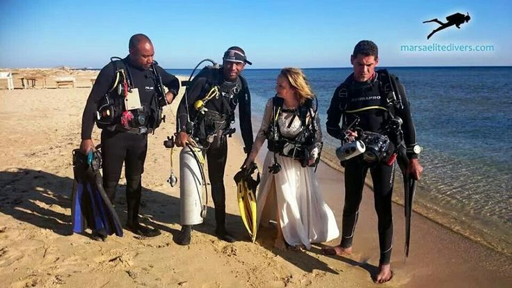 Ready to Dive. The one and only underwater photo session on Hamada Wreck Abu Ghusun Marsa Alam Egypt