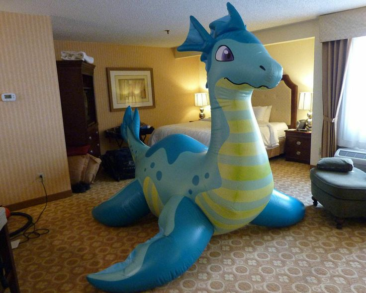 Puffypaws Inflatable Sea Dragon Dragons Collectibles