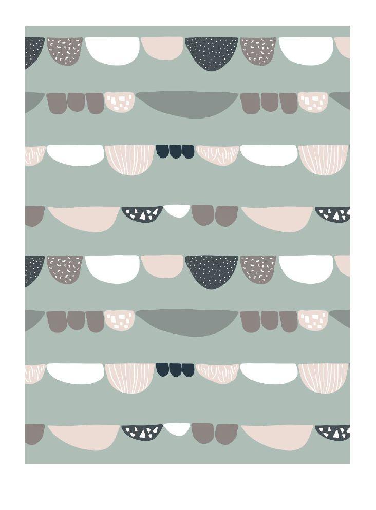 Pattern print mönster pastell