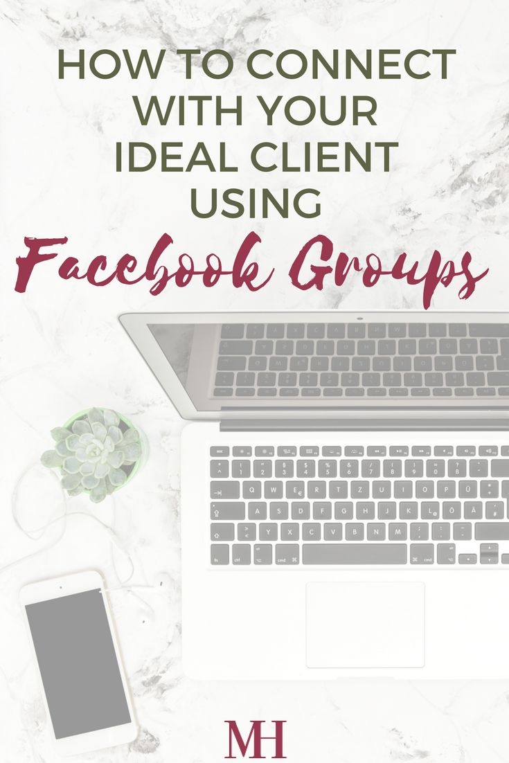 How to Connect With Your Ideal #Client Using #Facebook Groups! // Miranda Hassen
