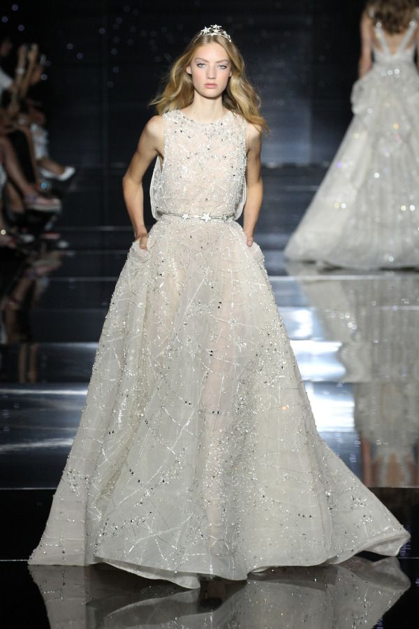 Glam Zuhair Murad dress: http://www.stylemepretty.com/2015/07/11/bridal-inspiration-from-the-paris-haute-couture-runways/