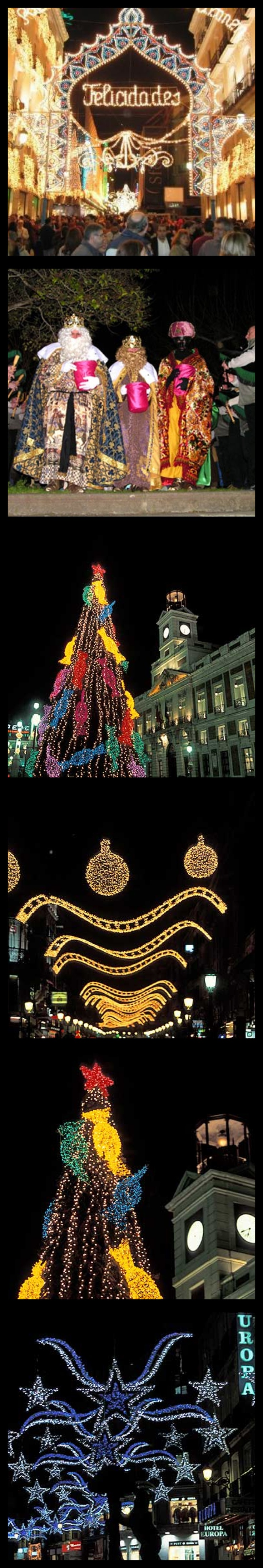 Christmas Traditions: Christmas in Spain.  The fourth image reminds me of Christmastime in Granada!