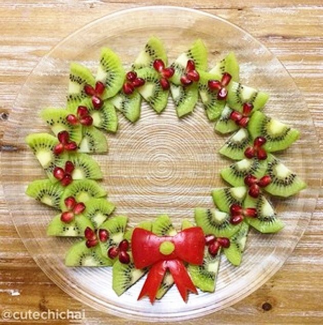 how to cut kiwi fruit for a fruit platter
