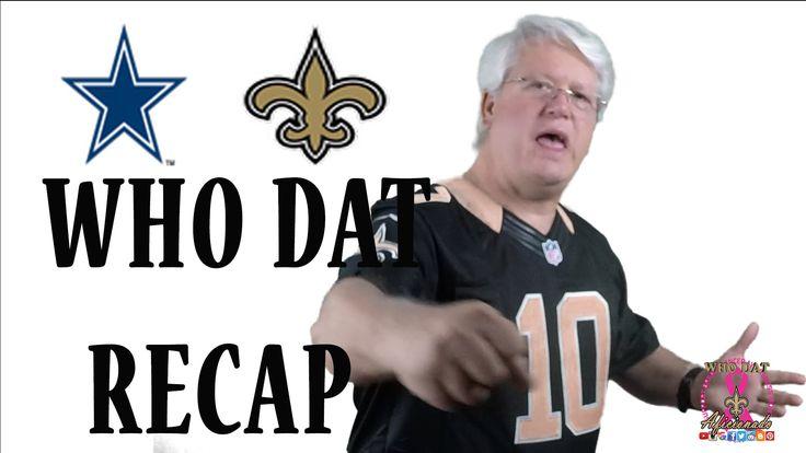 Cowboys Vs Saints Wk4 ReCap