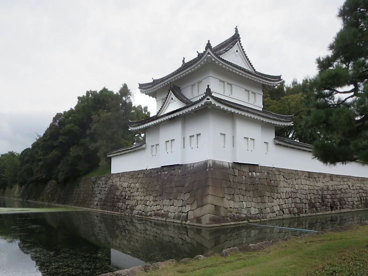 Nijo Castle in Kyoto, Japan, was built in 1626 as a residence for the first Tokugawa Shogun, Ieyasu.