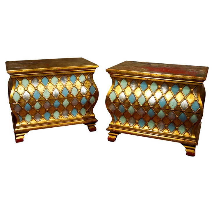 Dorothy Draper Style Chests