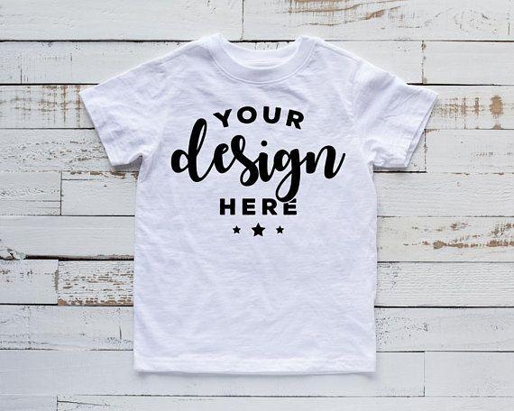 Download Kids Shirt Mockup White Kids T Shirt Mock White Shirt Template Etsy Shirt Mockup Free Packaging Mockup Shirt Template