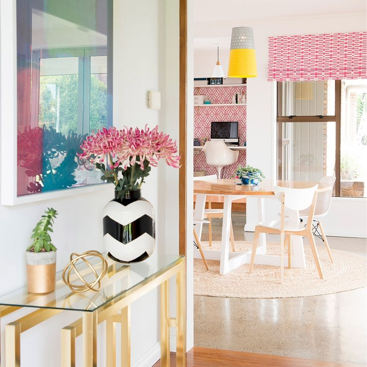 Designers and bloggers Victoria Bibby and Dael Brady share their secrets to successfully connecting rooms with colour and design.