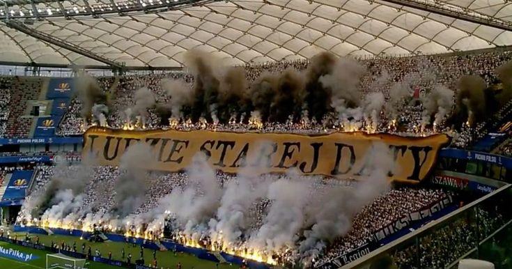 Fans of Lech Poznan and Legia Warsaw, take a bow
