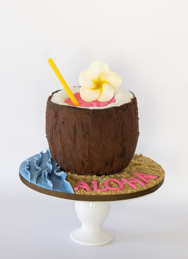 Coconut Aloha by Anchored in Cake