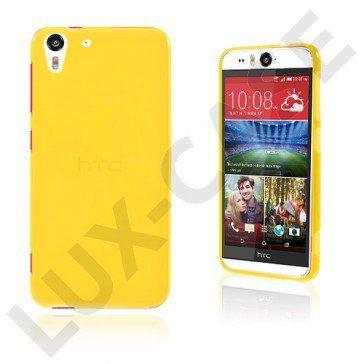 Sund HTC Desire Eye Suojakuori – Keltainen