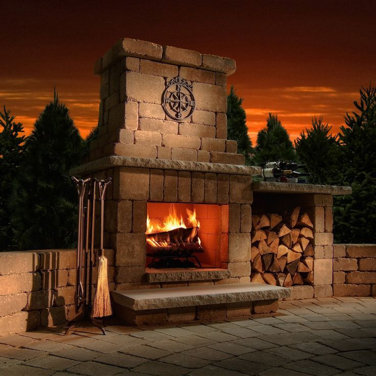 Outdoor Fireplace Design Ideas: 1000+ Ideas About Outdoor Fireplace Designs On Pinterest