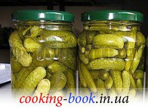 Рецепт: Хрустящие огурчики По-Артемовски