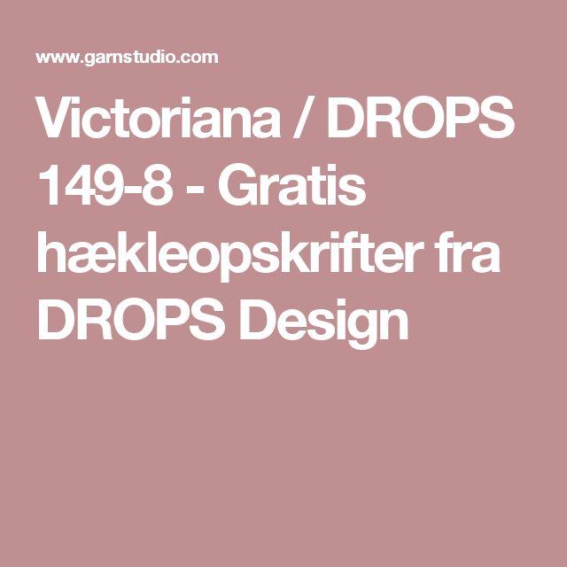 Victoriana / DROPS 149-8 - Gratis hækleopskrifter fra DROPS Design