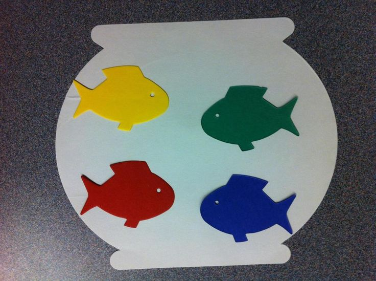 1000 images about preschool storytime crafts on pinterest for Fish die cuts