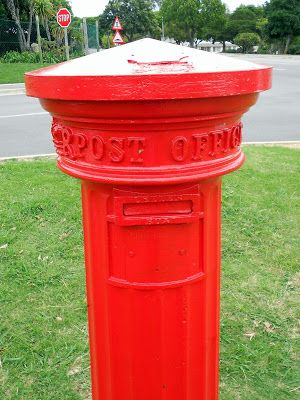 Oldest Official Letter Box in South Africa, Grahamstown