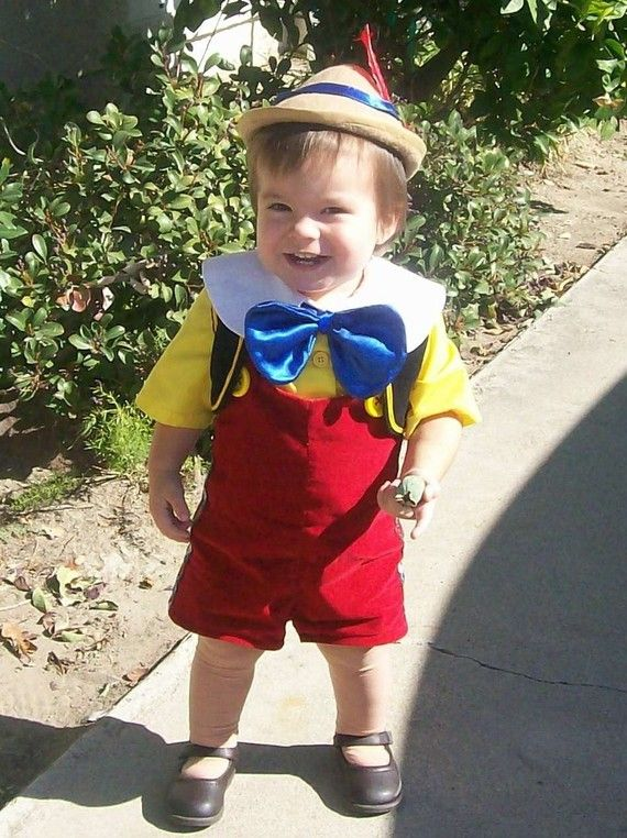 Custom made Disney Pinocchio child Costume One of A by Petiteleon, $300.00