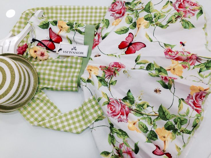 Monnalisa   Spring-Summer Collection   Girl #Monnalisa #spring #summer #kids' #fashion #girl #green #pink #yellow #flower #butterfly #roses #red #cutipie #so #much #love #white #dress #carryonjunior
