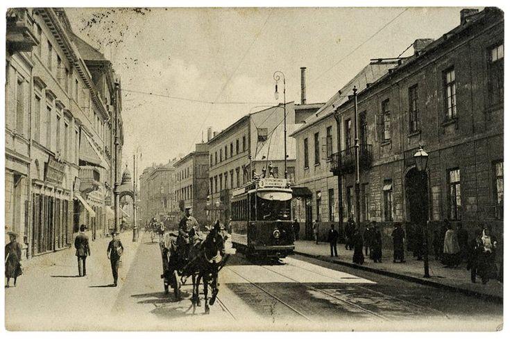 Warszawa 1911 - ulica Miodowa