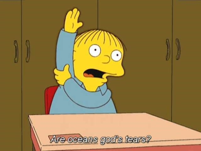30 Times Ralph Wiggum Charmed Us With His Innocent Stupidity