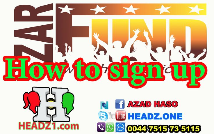 ZarFund How to sign up