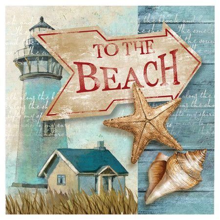Bring a touch of the seaside to your d�cor with this imaginative coastal print.    Product: Wall artConstruction Material:...