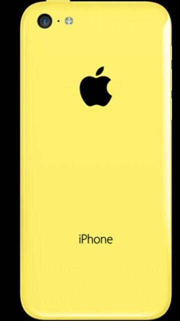 Yellow IPhone 5 c