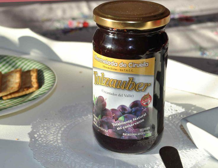 Dulce de Ciruela Talzauber desayuno Merienda Brunch