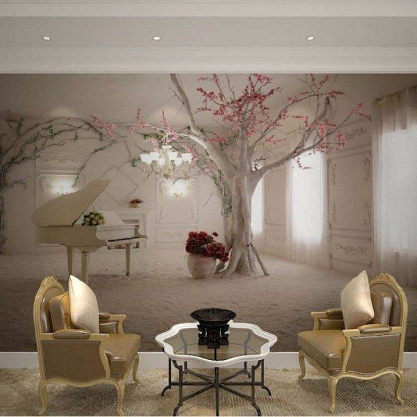 Beibehang Custom Any Size Wall Mural Wallpapers For Living Room,Modern  Fashion Beautiful New Photo Murals Tree Wallpaper Part 69