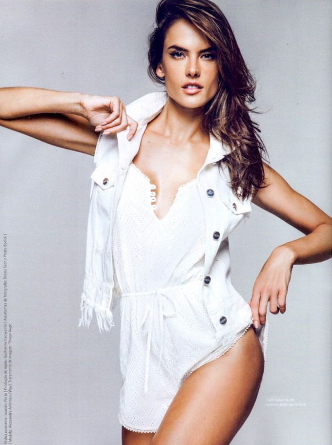 Алессандра Амбросио (Alessandra Ambrosio) в Dafiti Magazine