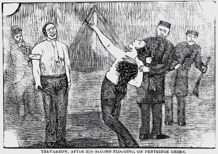 William Bamford, flogging a prisoner at Pentridge. #murder ...