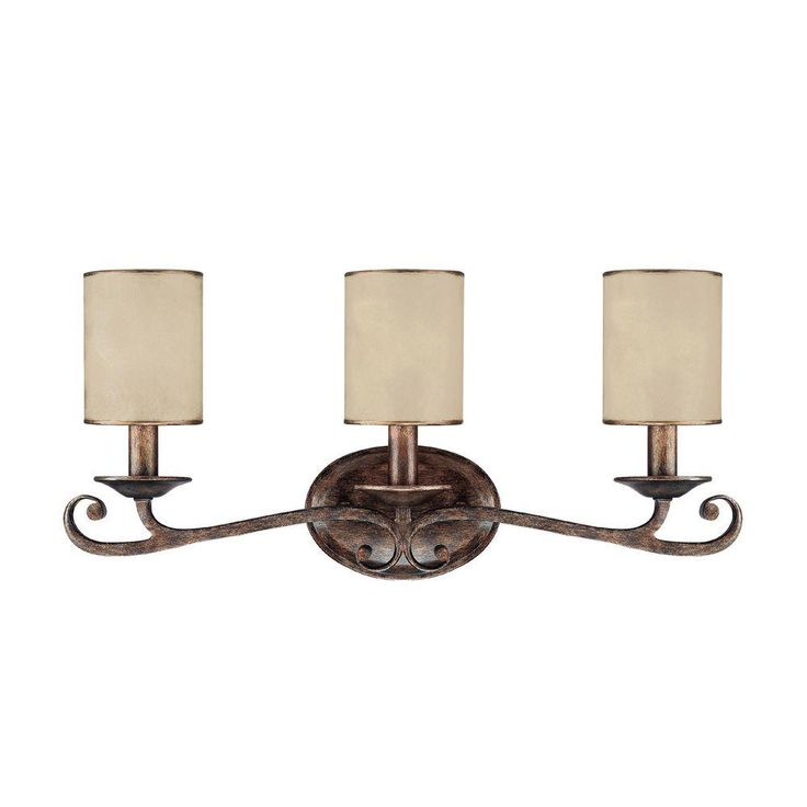 Filament Design 2-Light Rustic Vanity Light