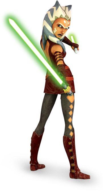 Ahsoka Tano - dress (Star Wars: The Clone Wars TV series 3rd season +)