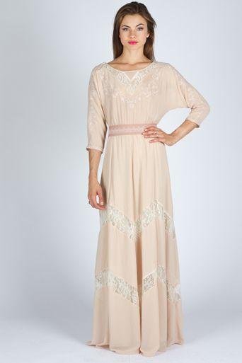 Dolman sleeve maxi dress high priestess pinterest for Dolman sleeve wedding dress