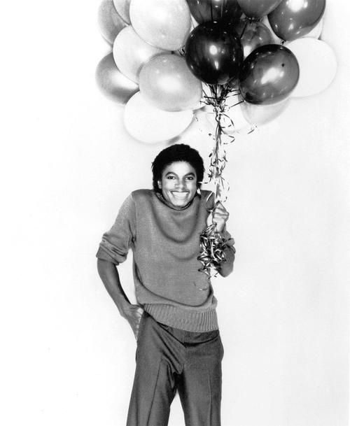 Michael Jackson, how adorable.