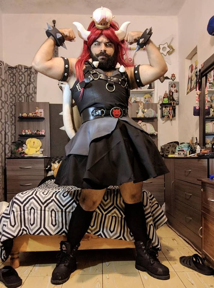 Bowsette cosplay by Christopher Cosplay #bowsette #cosplay ...