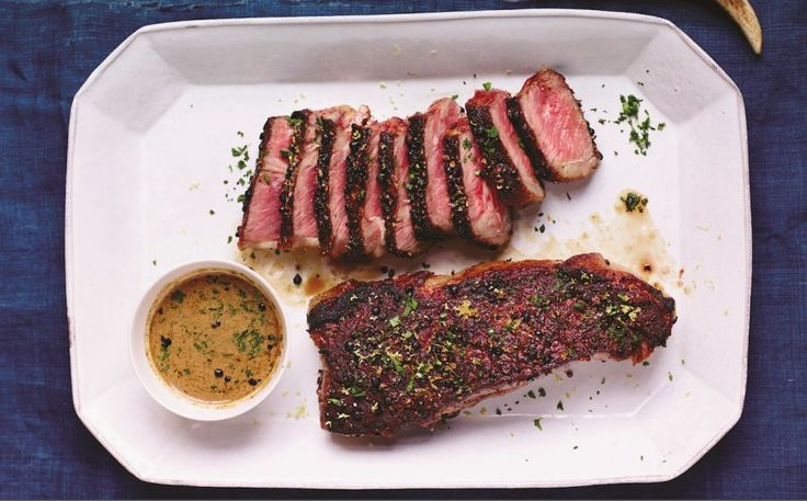 Tiffany hot baked new york strip steak This hot