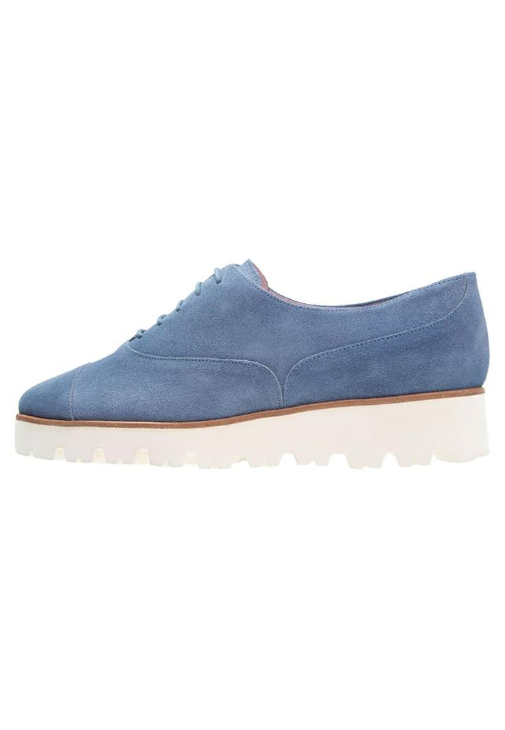 Lage schoenen Pretty Ballerinas Veterschoenen - jeans Blauw  denim/bluedenim: 229,95 €