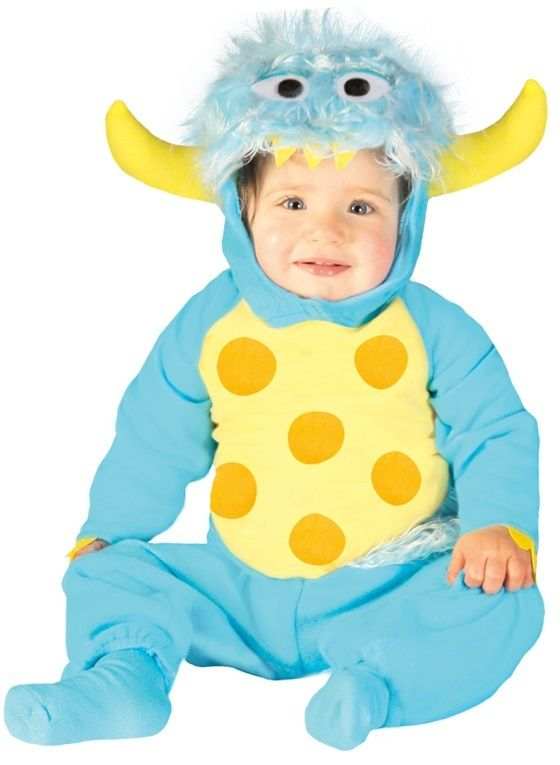 68e3436a9 Baby Blue Monster Fancy Dress Costume. Perfect outfit for your little girl  or boy this Halloween, carnival, book day or birthday.