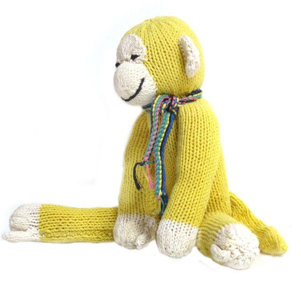 organic cotton monkey kids toys