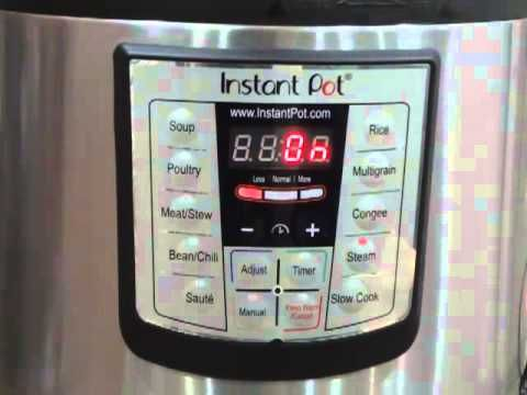 Quick Start Guide - All you need to know about how to use Instant Pot
