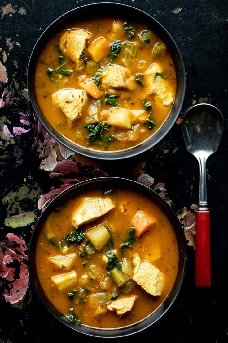 Chicken vegetable soup (paleo) Recipe Vegetable soup