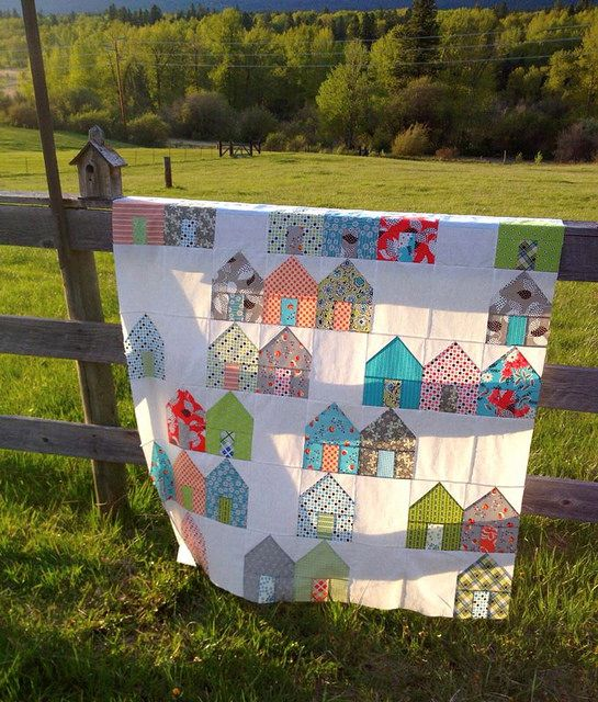 Suburbs by Cluck Cluck Sew by pink chalk studio, via Flickr