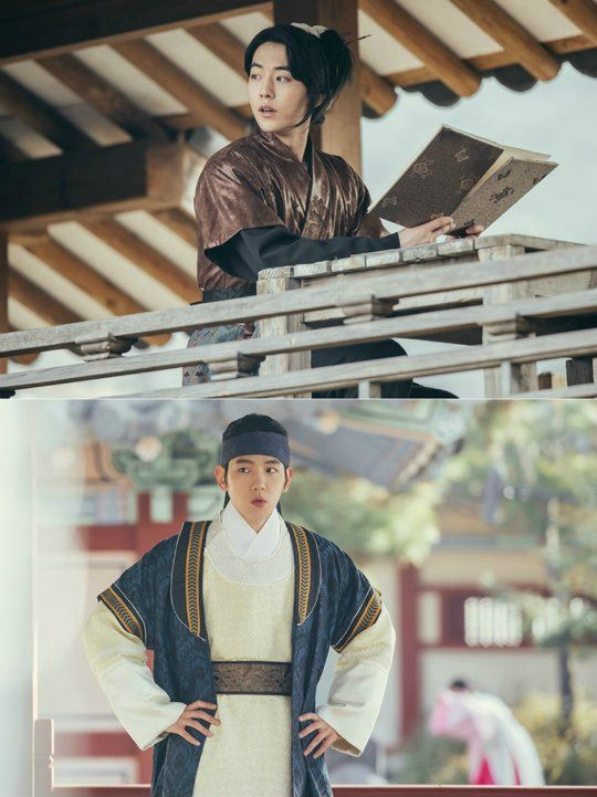 I'm going to start running out of headline space if they keep releasing posters for Moon Lovers: Scarlet Heart: Goryeo, but I think we've gotten all the posters we could for one show. D'oh, did I just jinx it? Here are the rest of our princes, who will be vying for power, or love, or both.