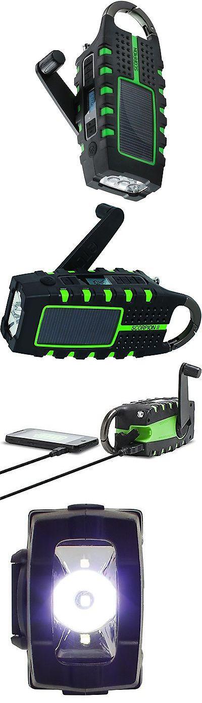 Portable AM FM Radios: Eton Nsp101wxgr Scorpion Ll Rugged Portable Multi-Purpose Digital Radio With ... BUY IT NOW ONLY: $40.92