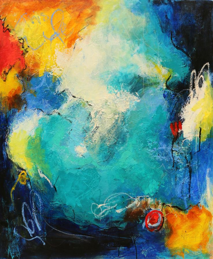 """""""Cool Change Coming"""" by Nicole Fearfield. Paintings for Sale. Bluethumb - Online Art Gallery"""